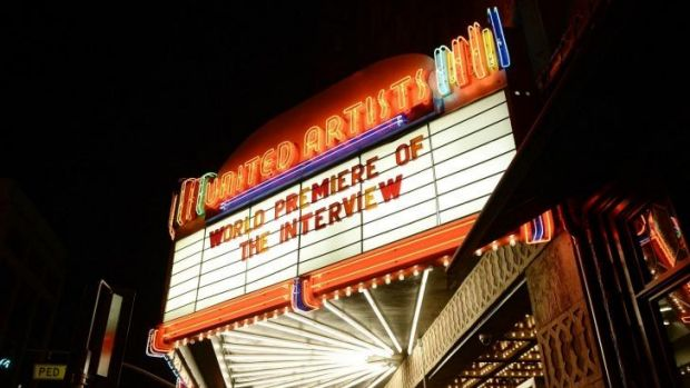 Sony cancelled the release of Seth Rogen and James Franco's film <em>The Interview</em> over hacker threats.