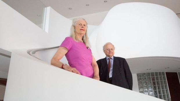 Learning curve: Penelope Seidler donated more than $1 million to the University of NSW for architecture education.
