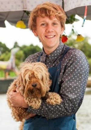 What is the name of Josh's dog in Please Like Me? (Question 44)