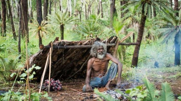 Charlie (David Gulpilil) in a scene from Rolf de Heer's <i>Charlie's Country</i>.