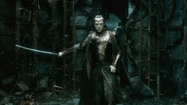 Box office gold: Hugo Weaving in <i>The Hobbit: The Battle of the Five Armies</i>.