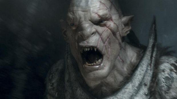 Bad move: Even angry orcs cannot keep <i>The Hobbit: The Battle of the Five Armies</i> from being dull.