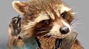 Talking raccoon: <i>Guardians of the Galaxy</i> was top in the United States.