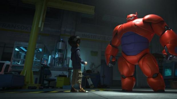 Pet project: Hiro Hamada transforms his closest companion Baymax into a high-tech hero in the action-packed ...