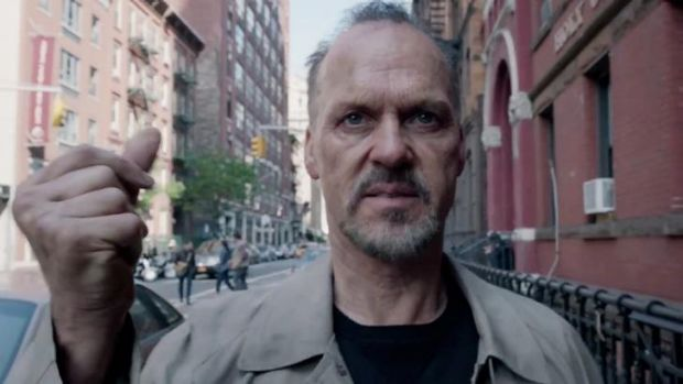 Michael Keaton in Birdman.