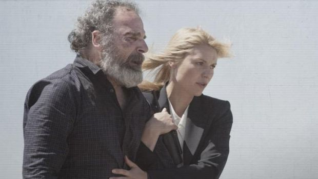 Can these two ever be the same again? The attack on Saul Berenson (Mandy Patinkin).
