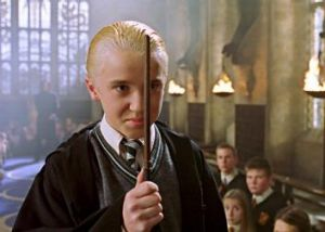 Draco Malfoy in <i>Harry Potter and the Chamber of Secrets</i>.
