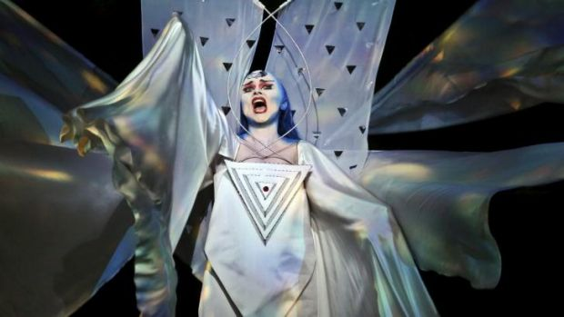 Emma Matthews reigns supreme as the Queen of the Night in Opera Australia's stunning revival of The Magic Flute.
