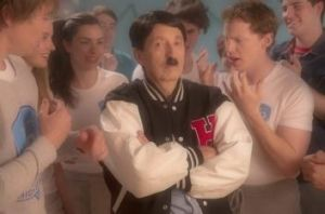 Touching moments: Carmine Russo as Johnny Hitler in <i>Danger 5</i>.