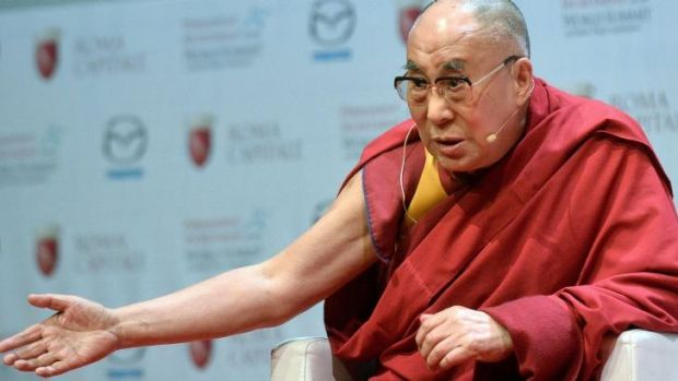 The Dalai Lama has announced he will appear in the unfamiliar surrounds of the 2015 Glastonbury rock festival.