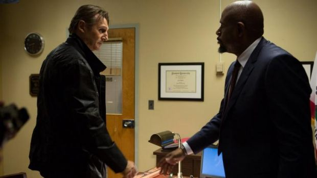 Action slow: Forest Whitaker, right, plays a perceptive detective in <i>Taken 3</i>, to Liam Neeson's covert operative ...