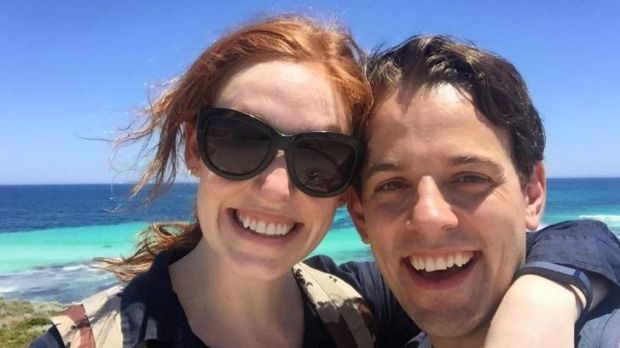 Hugo Chiarella proposed to his actress girlfriend Gabrielle Scawthorn on Perth's Rottnest Island.