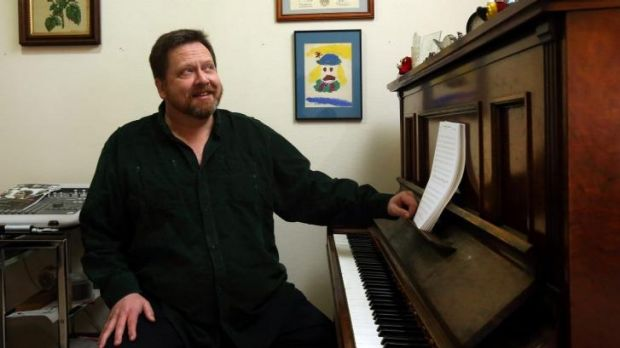 """""""I fear the worst"""": Composer Houston Dunleavy."""