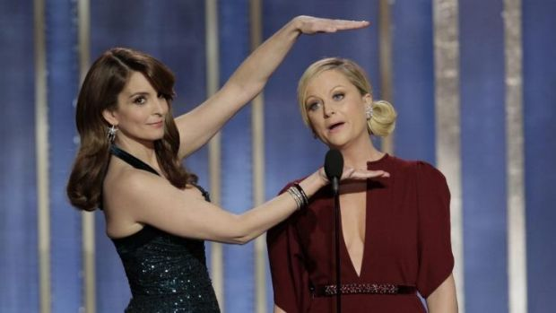 Lucky last: Tina Fey and Amy Poehler will make this year's Golden Globes their final appearance.