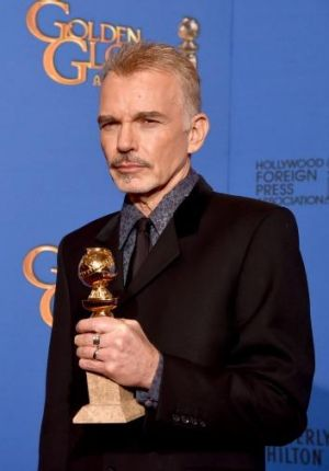 Just thanks: Billy Bob Thornton was grateful to be named best actor in a mini-series or television film for his work on ...