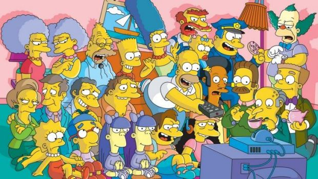 <i>The Simpsons</i> throw its support behind Charlie Hebdo.
