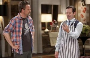 <i>The Odd Couple</i>: Matthew Perry and Thomas Lennon star in the reboot.