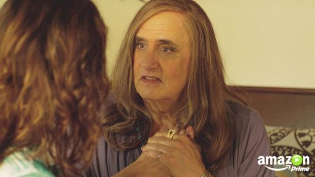 Amazon's home-made series <i>Transparent</i> won a Golden Globe for best television series, comedy or musical.