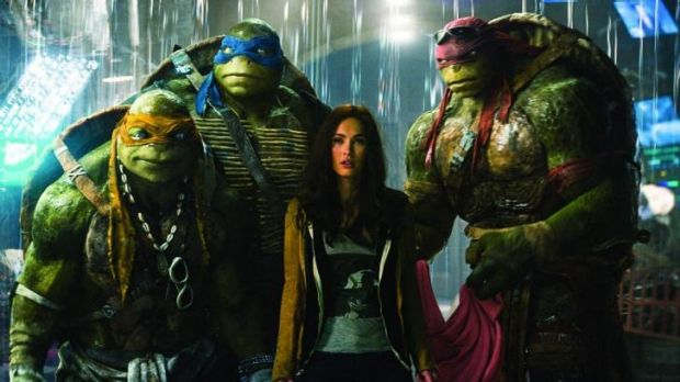 <i>Teenage Mutant Ninja Turtles</i> received multiple nominations, including worst picture and supporting actress for ...