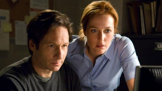 The truth is out there: Sci-fi series <i>The X-Files,</i> starring David Duchovny and Gillian Anderson, could be getting ...