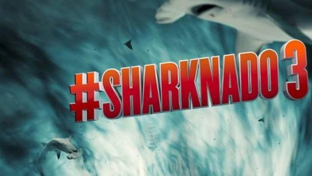 Very special effects: The Sharknado franchise is celebrated for its schonkiness.