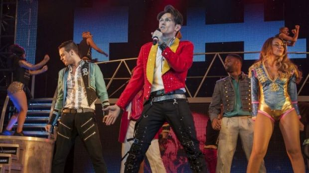 Colour and movement... Thriller Live shows off Michael Jackson's best dance routines, including the Moonwalk.