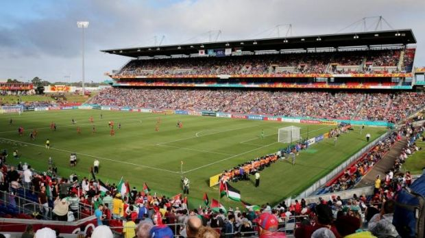 Financially challenged: Hunter Stadium in Newcastle is one of four stadiums in Sydney, Newcastle and Wollongong operated ...