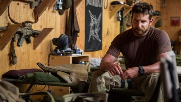 Fleshed-out role: Bradley Cooper piled on the beef to play Navy SEAL sniper Chris Kyle in Clint Eastwood's <i>American ...