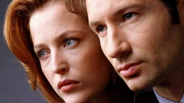 Back for a reboot? ... <i>The X Files</i>' Scully and Mulder.