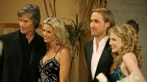 The Bold and The Beautiful's Ronn Moss (left) fell for The Drugs.