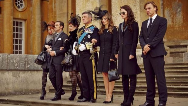 Worst show ever? ... <i>The Royals</i> is a very fictional drama about a very fictional 'British Royal Family'.