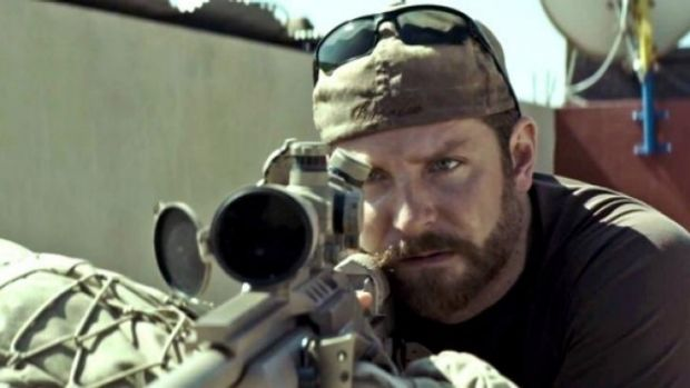 Bradley Cooper plays Chris Kyle - America's deadliest sniper - in <i>American Sniper</i>, which has taken more dollars ...