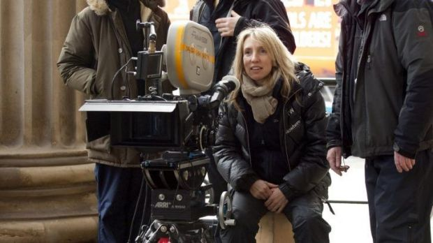 Long shot: Sam Taylor-Johnson was considered an outsider for the director's role.