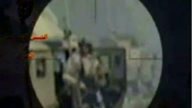 Propaganda videos made by the Iraqi insurgency can still be found showing footage of US soldiers being killed by an ...