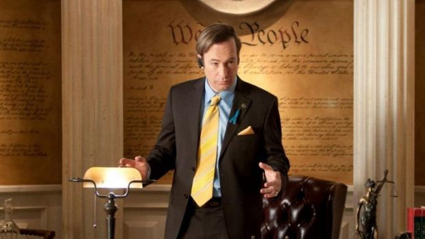 Better Call Saul: it was once a joke between the writers of Breaking Bad, now it's become its own show.