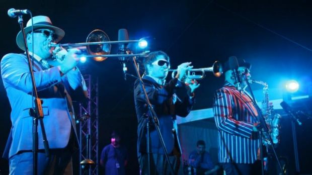 Fat Freddy's Drop had the audience in raptures at the Fremantle Arts Centre.