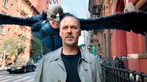 <i>Birdman</i>, starring Michael Keaton as a washed-up actor, took out the prize for outstanding producer of a motion ...