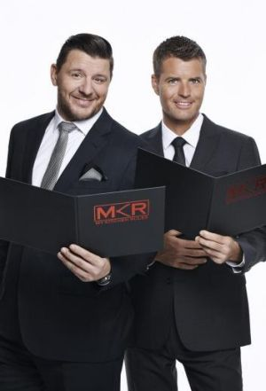Co-host and judges Manu Feidel and Pete Evans.