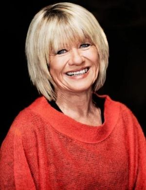 """Margaret Pomeranz: """"I thought I was just going to lie on a beach somewhere and read crimmies [crime novels]""""."""