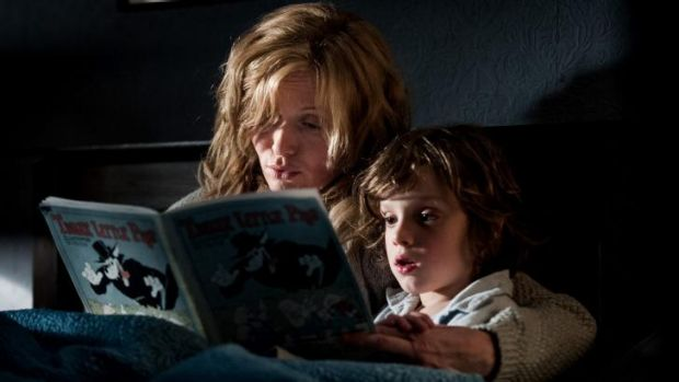 <i>The Babadook</i>, starring Essie Davis as a widowed mum bringing up son Sam (Noah Wiseman), has shared top prize at ...