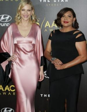Hosts Cate Blanchett and Deborah Mailman.