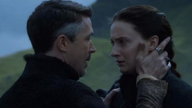 Littlefinger has a message for Sansa.