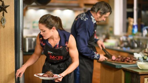 My kitchen rules 2015 episode 3 recap robert and lynzey for Y kitchen rules episodes