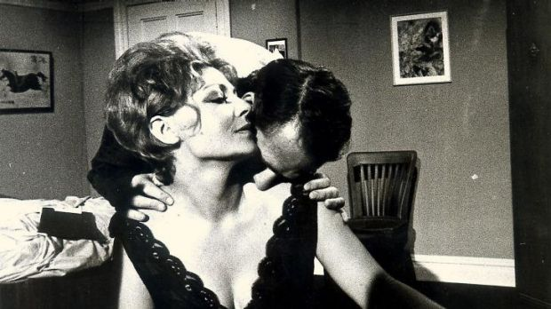 <i>Number 96</i>: Elaine Lee as Vera Collins and Norman Yemm as her husband, Harry in 1973.