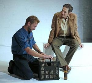 Mark Taylor and Paul Dawson in <i>Playing Rock Hudson</i>.