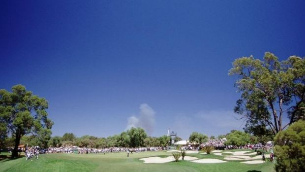The Vines has frequently played host to international golf in Perth.
