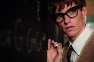 Eddie Redmayne in <i>The Theory of Everything</i>.