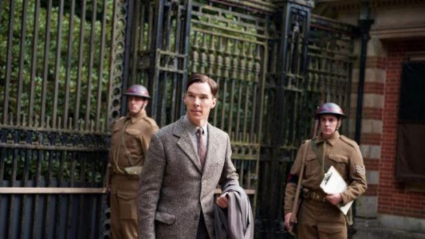 Benedict Cumberbatch in <i>The Imitation Game.</i>