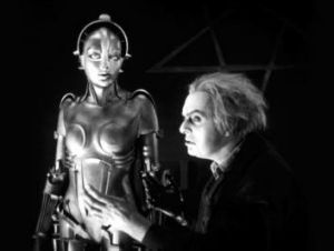 A scene from Fritz Lang's <i>Metropolis.</i>
