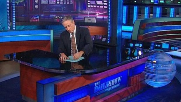 In a shock move, Jon Stewart is leaving <i>The Daily Show</i> after helming the program since 1999.